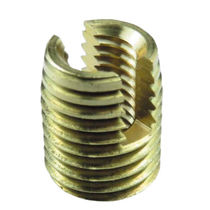 Self-tapping insert / brass / steel / stainless steel