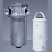Cartridge filter housing / for liquids / carbon steel / aluminum