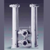Liquid filter / double-basket / switchable / duplex