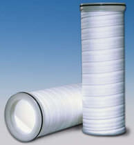 Liquid filter / cartridge / polypropylene / high-flow