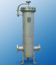 Gas filter housing / air / stainless steel