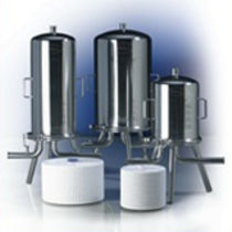 Liquid filter housing / stainless steel