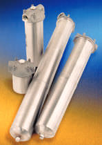 Single-cartridge filter housing / stainless steel