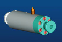 Gas filter housing / air / single-cartridge / stainless steel