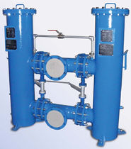 Liquid filter / carbon steel / duplex / switchable