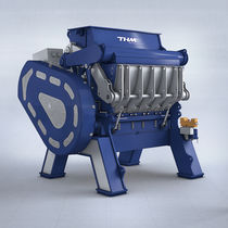 Rotor granulator / for plastic waste / for metals / for tires