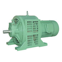 Motor with speed controller / AC / asynchronous / variable-speed