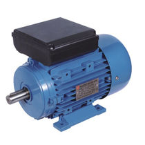 Single-phase motor / induction / aluminum-frame / low-noise