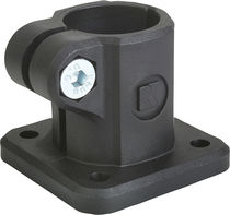 Thermoplastic base clamp / for pipes
