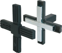 Square tube connector / polyamide