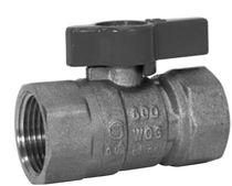 Ball valve / lever / shut-off / for gas