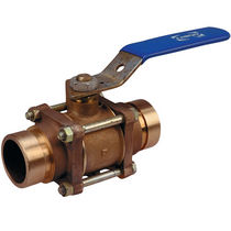 Ball valve / for compressed air / lever / isolation