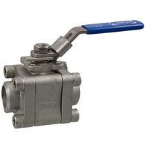 Ball valve / lever / shut-off / stainless steel
