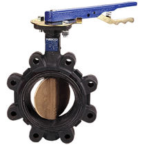 Potable water butterfly valve / lever / shut-off / lug type