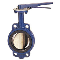 Potable water butterfly valve / lever / shut-off / wafer