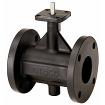 Steam butterfly valve / lever / flange