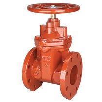 Gate valve / for water / handwheel / shut-off