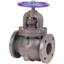 Globe valve / for water / handwheel / regulating
