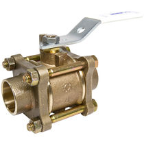 Ball valve / for water / lever / control