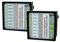 Panel-mounted fault annunciator / switchboard