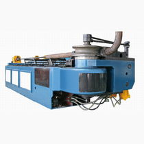 Hydraulic bending machine / for tubes / semi-automatic / rugged