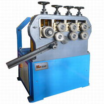Hydraulic bending machine / pipe / profile / with 3 drive rolls