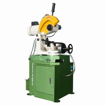 Circular sawing machine / for metals / with cooling system