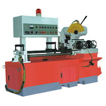 Circular sawing machine / for metals / automatic / PLC-controlled