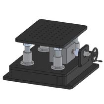 Linear stage / manual / for large loads