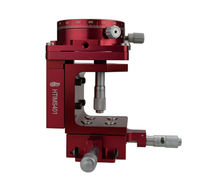 In-line positioning stage / manual / micrometer / miniature