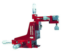 In-line positioning stage / manual / miniature / high-precision