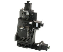 In-line positioning stage / XYZ / motorized / 3-axis