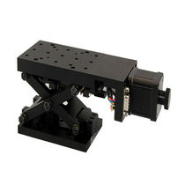 Vertical positioning table / motorized / 1-axis / precision