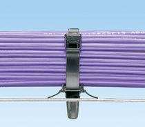 Nylon cable tie / with snap-lock mount