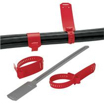 PE hose clamp / marker