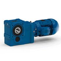 Servo electric gearmotor / helical / bevel