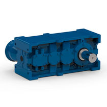 Parallel-shaft servo-gearmotor / low-noise / shaft-mounted / industrial