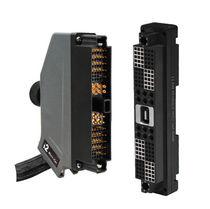 Signal connector / hybrid / rectangular / locking