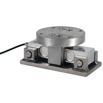 Hermetically-sealed weigh module / stainless steel / for tanks
