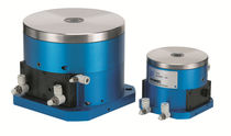 Pneumatic rotary indexing table / horizontal / automatic / compact