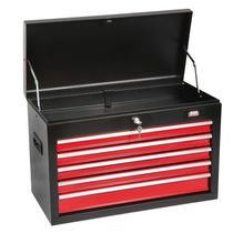 Storage cabinet / benchtop / 5-drawer / metal