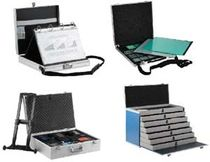 Transport suitcase / presentation / metal