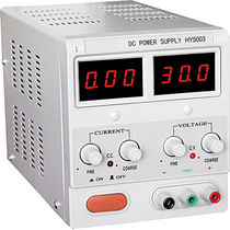 AC/DC power supply / stabilized / benchtop