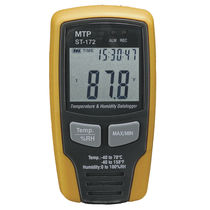 Temperature and humidity datalogger / USB / with LCD display / portable