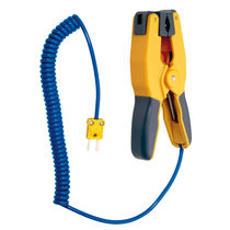 Type K thermocouple temperature probe / for pipes