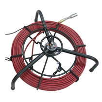 Cable reel / manual / for cameras / stainless steel