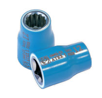 Socket wrench socket / antispark