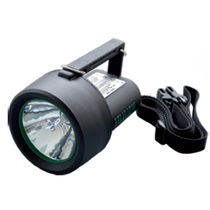 Halogen flashlight / work / explosion-proof