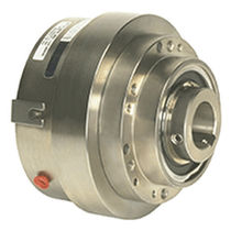 Toothed clutch / pneumatic / spring / with flexible coupling