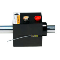 Pneumatic rod lock / anodized / pneumatic cylinder-mounted / NFPA
